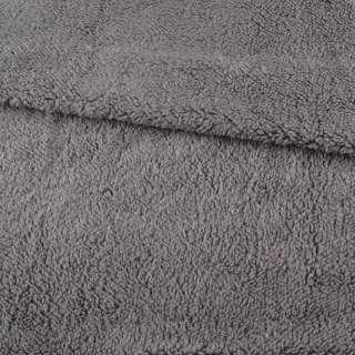 Мех искусственный овчина тонкий серый ш.175