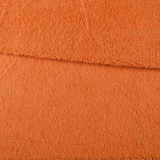 Мех искусственный овчина тонкий оранжевый ш.175