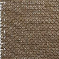 Рогожка из целюлозы на флизелине коричневая, ш.150