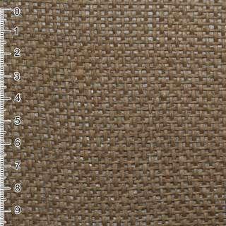 Рогожка із целюлози на флізелін коричнева, ш.150