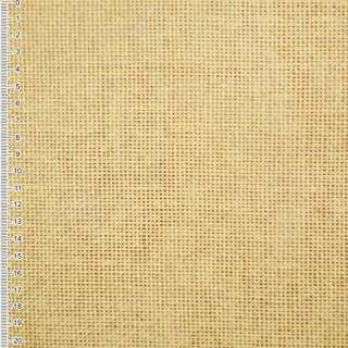 Рогожка из целлюлозы на флизелине светло-желтая, ш.150
