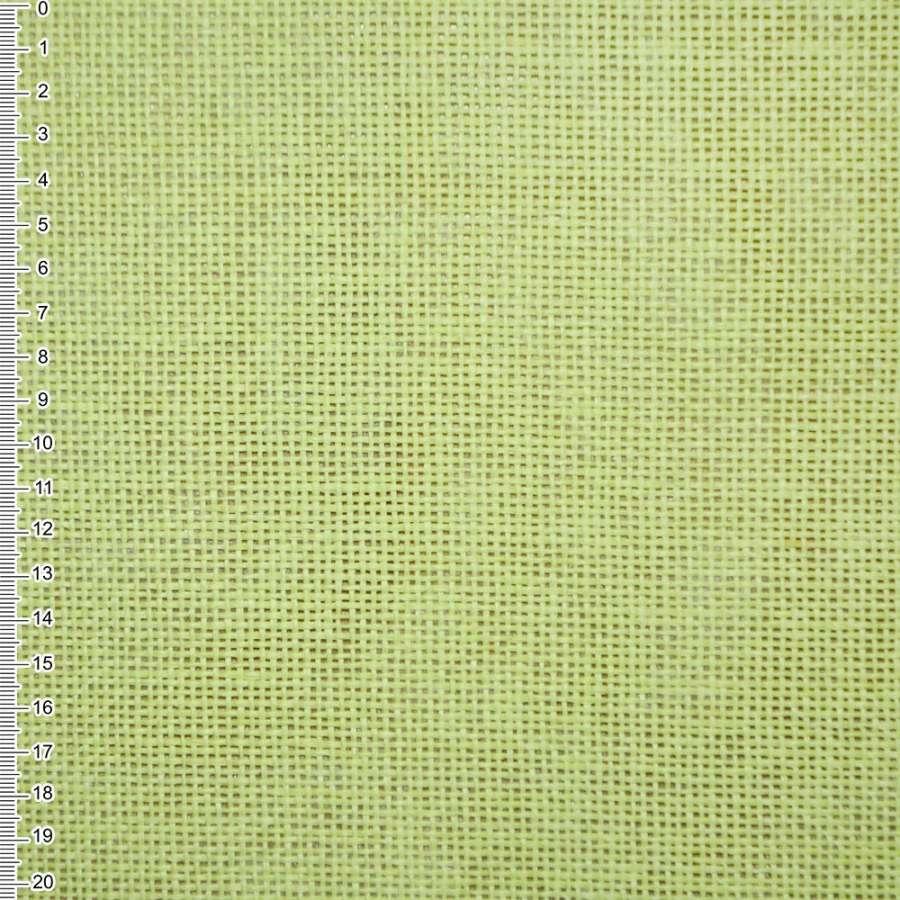 Рогожка из целюлозы на флизелине бледно-салатовая, ш.150