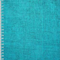 Рогожка из целюлозы на флизелине голубая насыщенная, ш.150