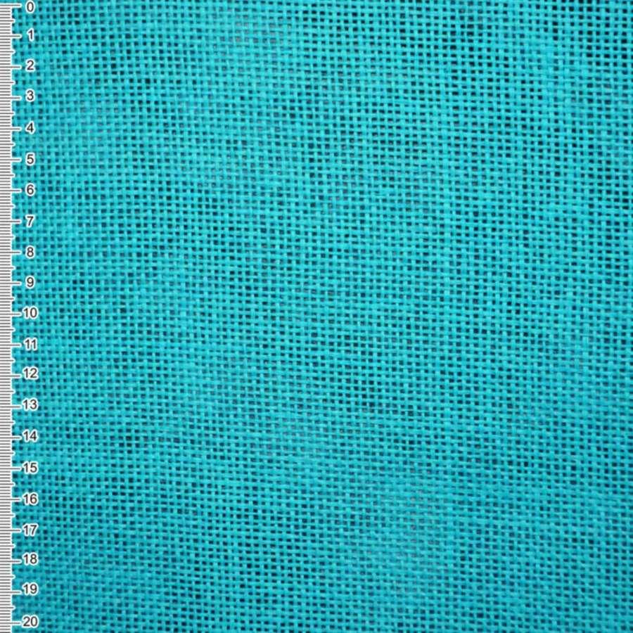Рогожка із целюлози на флізелін блакитна насичена, ш.150