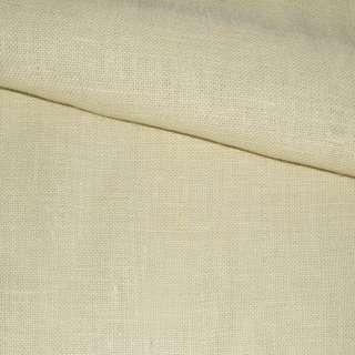 Рогожка джутова на флізелін молочна, ш.150