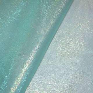 органза блакитна з золот. люрексом ш.150