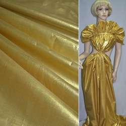 Парча світле золото гладка ш.150