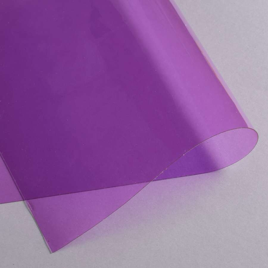 Силикон (0,5мм) фиолетовый прозрачный ш.122
