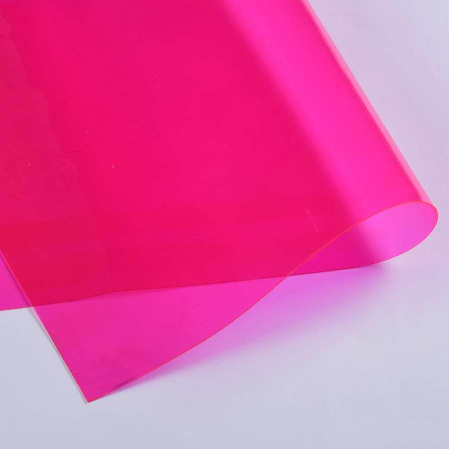 Силикон (0,5мм) малиновый прозрачный ш.122