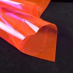 Силикон (0,3мм) розовый неон прозрачный ш.122