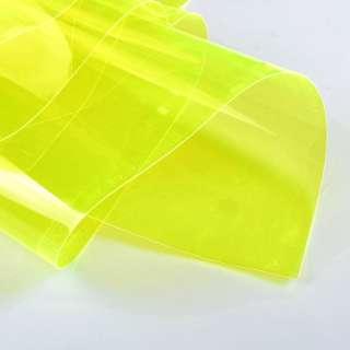 силикон (0,3мм) желтый неон прозрачный ш.122