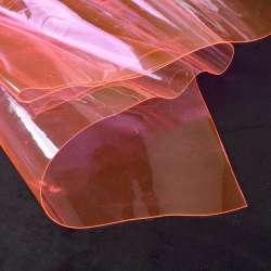 Силикон (0,3мм) розовый светлый неон прозрачный ш.122