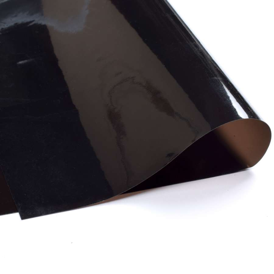 Силикон (0,2мм) черный прозрачный ш.122