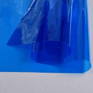 Силікон (0,2мм) синій прозорий ш.122