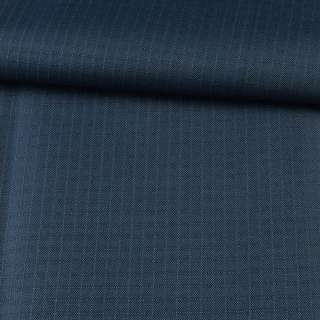 ПВХ тканина Оксфорд рип-стоп синя темна ш.150