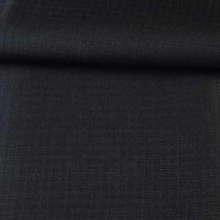 ПВХ ткань оксфорд рип-стоп  черная ш.150