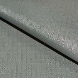ПВХ ткань оксфорд рип-стоп серая светлая ш.150