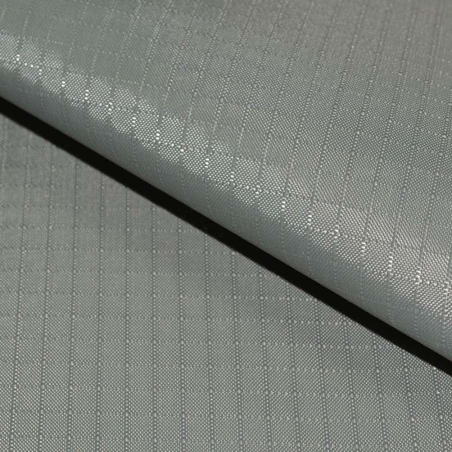 ПВХ ткань оксфорд рип-стоп светло серая ш.150
