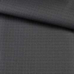 ПВХ ткань оксфорд рип-стоп серая темная, ш.150