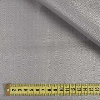 ПВХ тканина Оксфорд рип-стоп сіра срібляста, ш.150