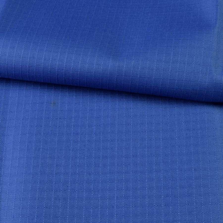 ПВХ ткань оксфорд рип-стоп синяя ультрамарин, ш.150