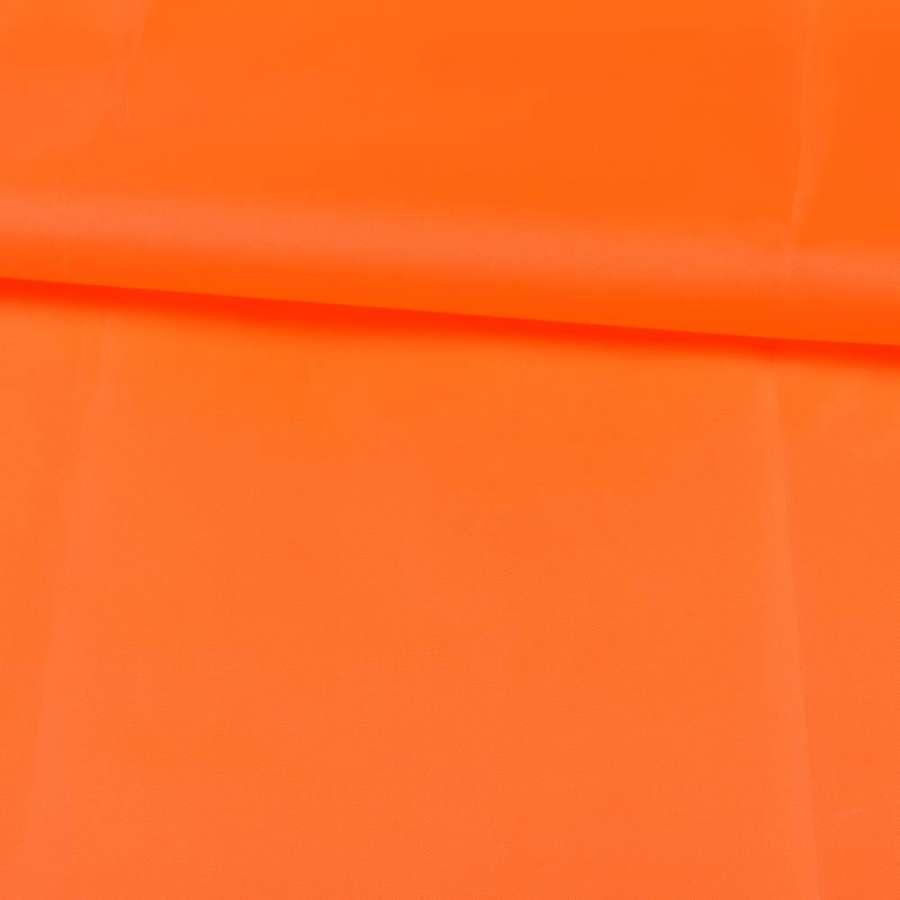 Тент нейлон 210D оранжевый неоновый, ш.150