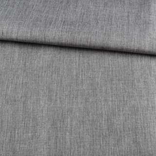 ПВХ тканина Оксфорд льон 300D сірий, ш.150