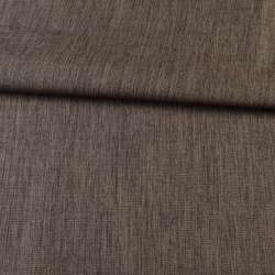 ПВХ ткань оксфорд лен 300D коричневый, ш.150