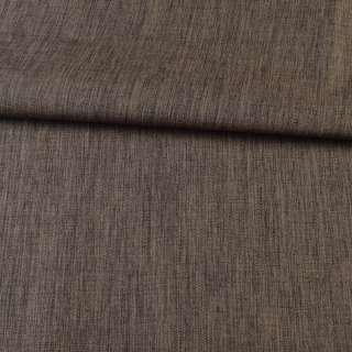 ПВХ тканина Оксфорд льон 300D коричневий, ш.150