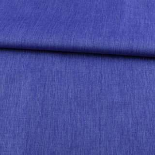 ПВХ тканина Оксфорд льон 300D синій, ш.150