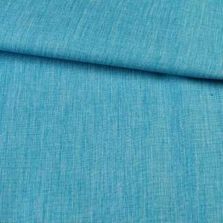 ПВХ тканина Оксфорд льон 300D бірюзовий, ш.150
