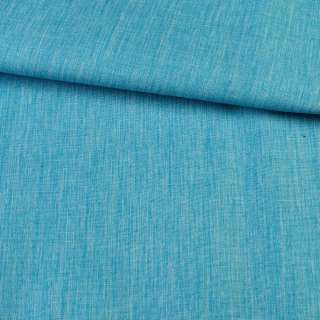 ПВХ ткань оксфорд лен 300D бирюзовый, ш.150