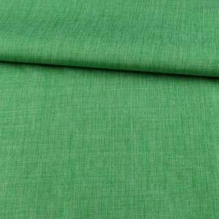 ПВХ тканина Оксфорд льон 300D зелений, ш.150