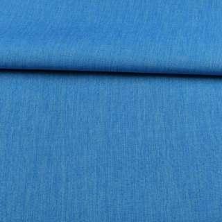ПВХ тканина Оксфорд льон 300D блакитний яскравий, ш.150