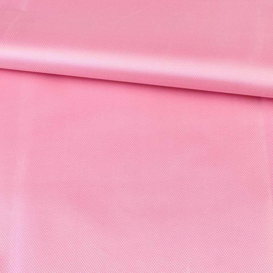 ПВХ тканина Оксфорд 420D рожева, ш.150