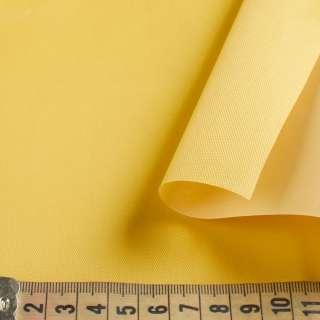Тентовая ткань ПВХ 420D желтая ш.150