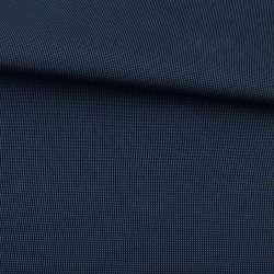 Тканина ПВХ 600D чорна в синю крапку, ш.155