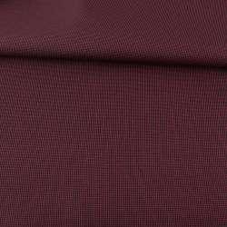 Тканина ПВХ 600D чорна в червону крапку, ш.157