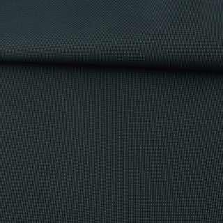 Тканина ПВХ 600D чорна в зелену крапку, ш.156