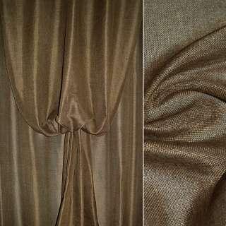 Рогожка коричневая ш.145