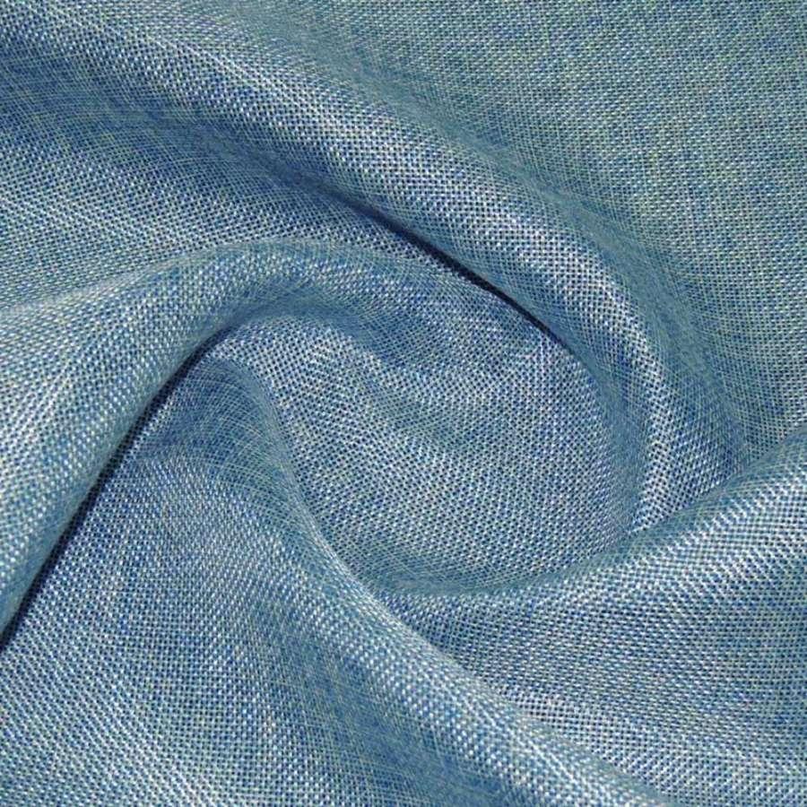 рогожка голубая ш.145
