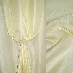 Рогожка молочно-лимонна ш.150
