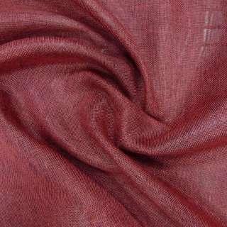 Рогожка вишнева ш.145