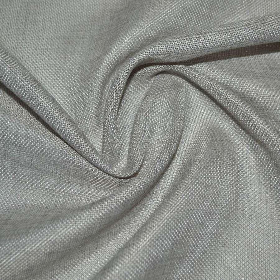 рогожка сріблясто-молочна ш.150
