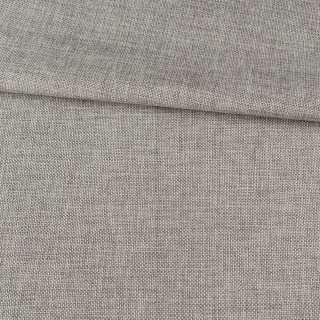 Рогожка деко серая светлая меланж, ш.150