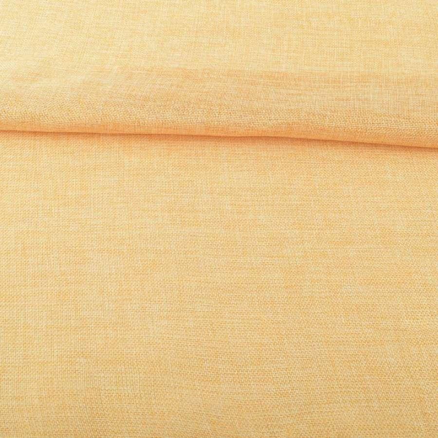 Рогожка деко бежево-желтая ш.150