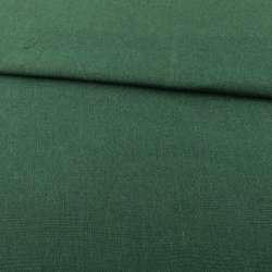 Рогожка деко зелена темна ш.150