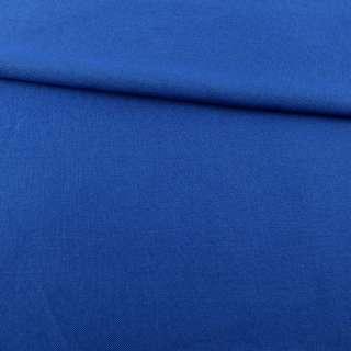 Рогожка деко синяя ультра ш.150
