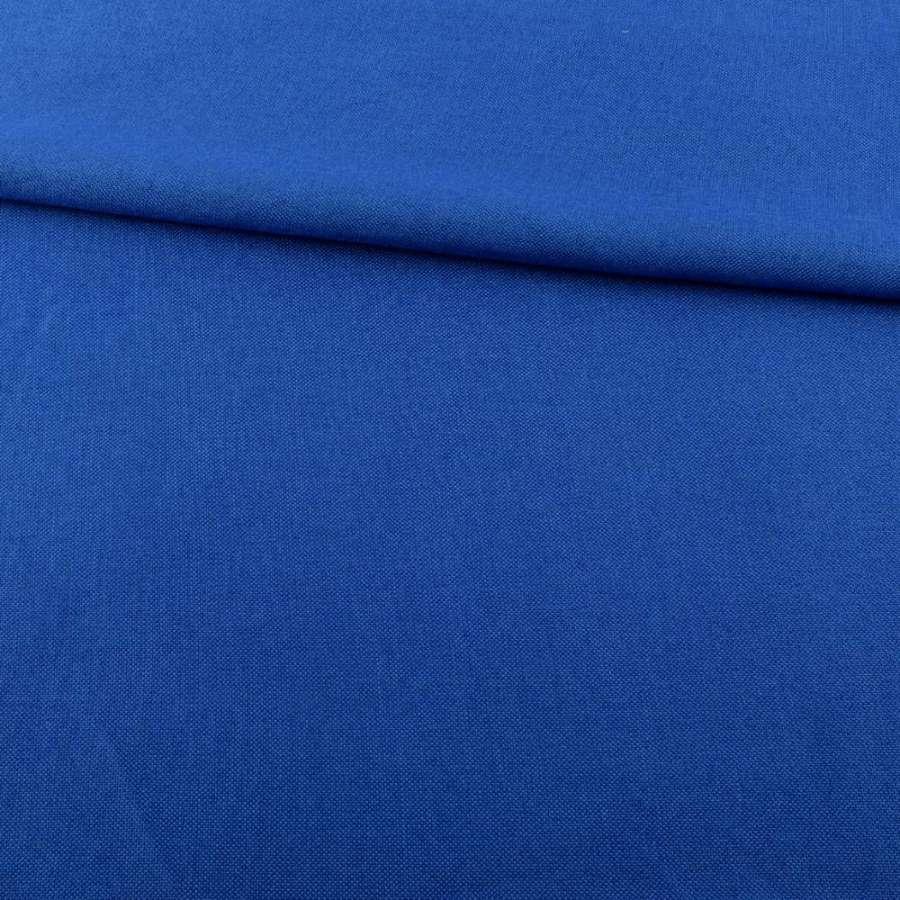 Рогожка деко синя ультра ш.150