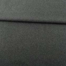 Рогожка деко сіра темна меланж ш.150